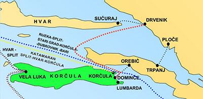 Kako doći do Korčule