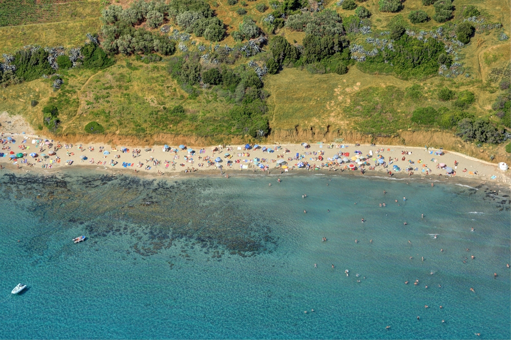 Pržina beach in Lumbarda