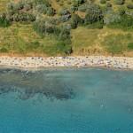Pržina beach in Lumbarda